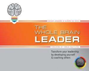 The Whole Brain Leader, verkrijgbaar bij Managementboek.nl